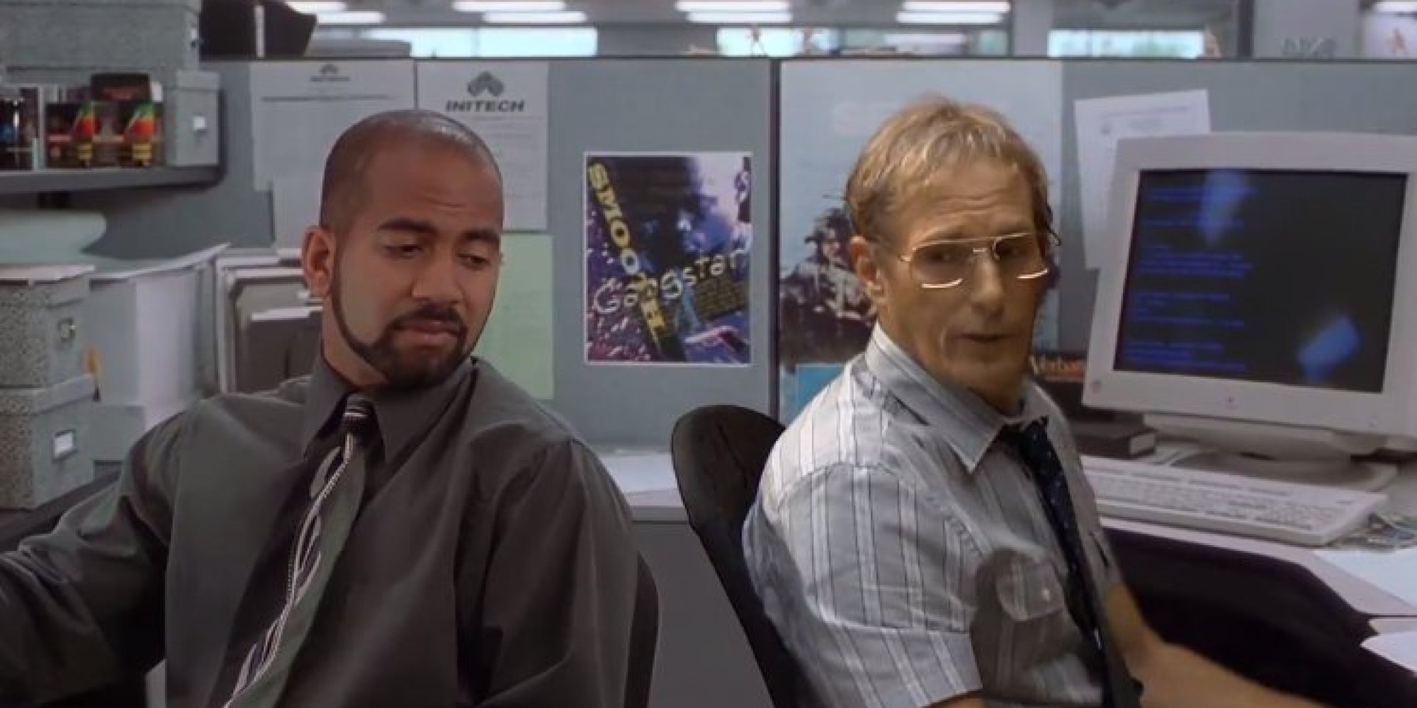 Awe Inspiring Watch The Real Michael Bolton Screen Test For Office Space Largest Home Design Picture Inspirations Pitcheantrous