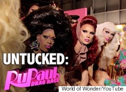 Watch This Week's 'RuPaul's Drag Race' Untucked and See What Happened on Glamazonian Airlines!