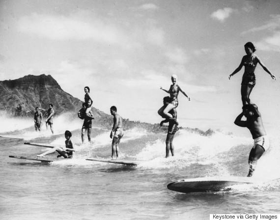 hawaii surfing 1960s