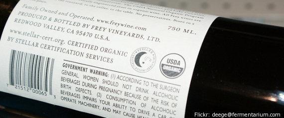 USDA ORGANIC WINE