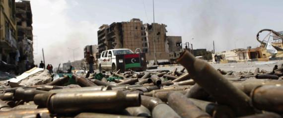 Misrata Port Bombed As Gaddafi Forces Step Up Attacks