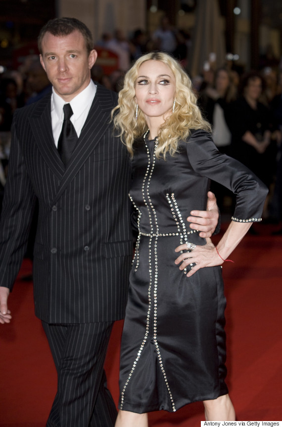 Madonna Says Guy Ritch...