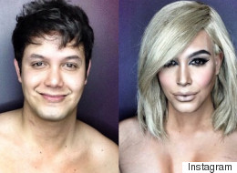This Guy's Transformation Into Kim K Is INCREDIBLE!