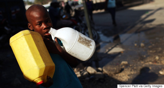haiti water earthquake