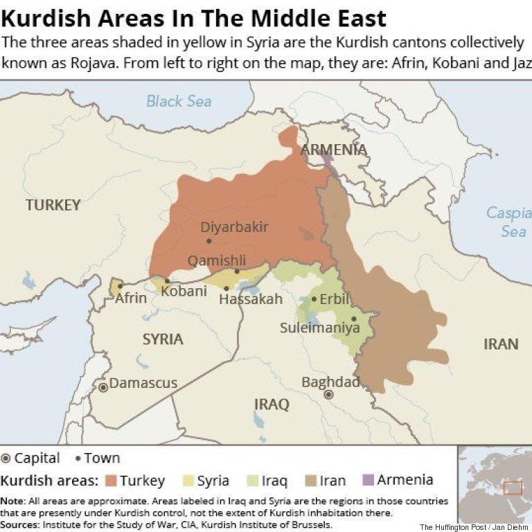 kurdish areas