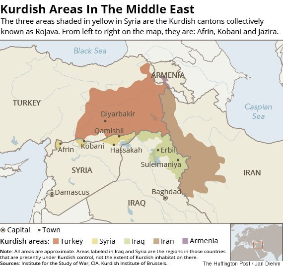 kurdish areas