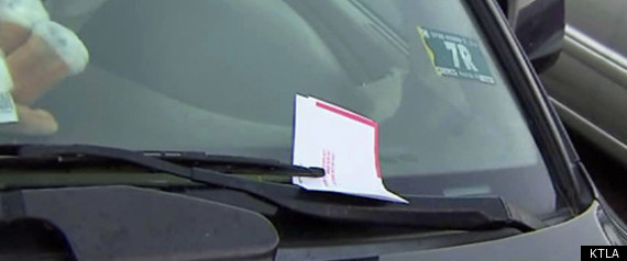 LOS ANGELES UNPAID PARKING TICKETS
