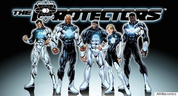 comic book the protectors