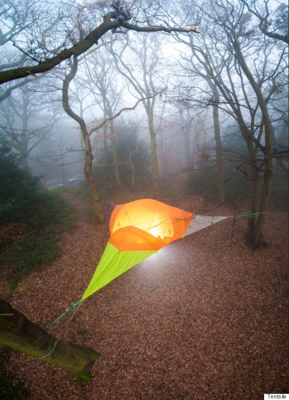 tentsile_glow & Hammock Tents Will Have You Sleeping In The Heavens | HuffPost