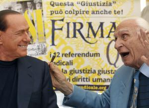 Pannella Berlusconi