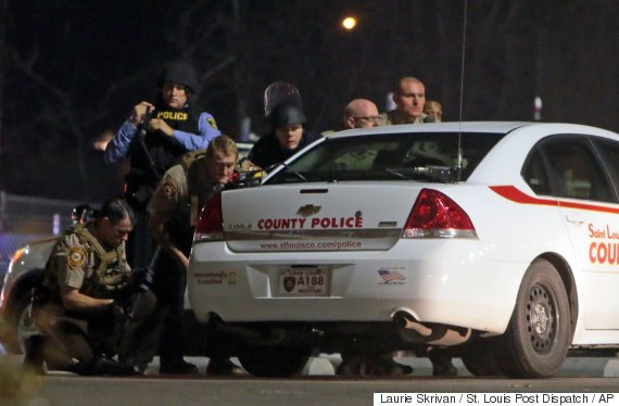 ferguson officers shot 2