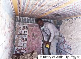 Stunning Ancient Tombs Unearthed In Egypt