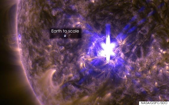 solar flare 2015