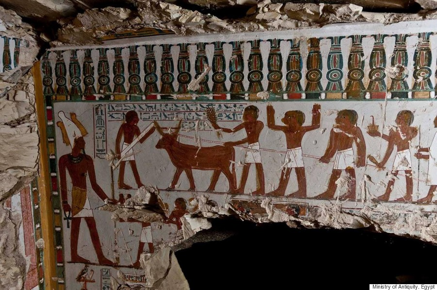 Ancient Egyptian Tombs With Eye Popping Murals Discovered In Luxor