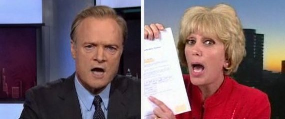 LAWRENCE ODONNELL ORLY TAITZ