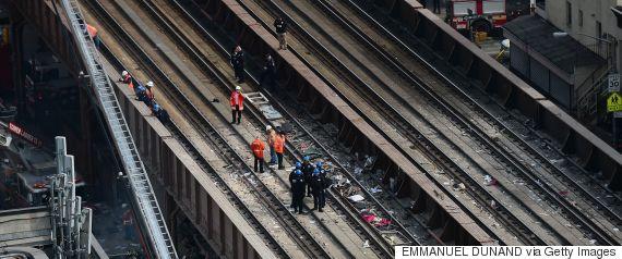 harlem train explosion