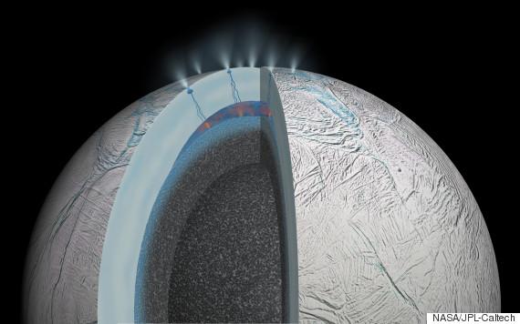 enceladus warm ocean