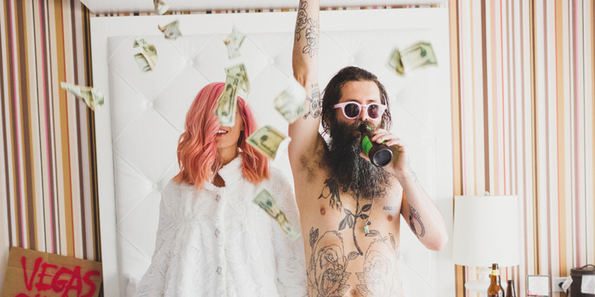 This Badass Couple S Vegas Elopement Is The Epitome Of