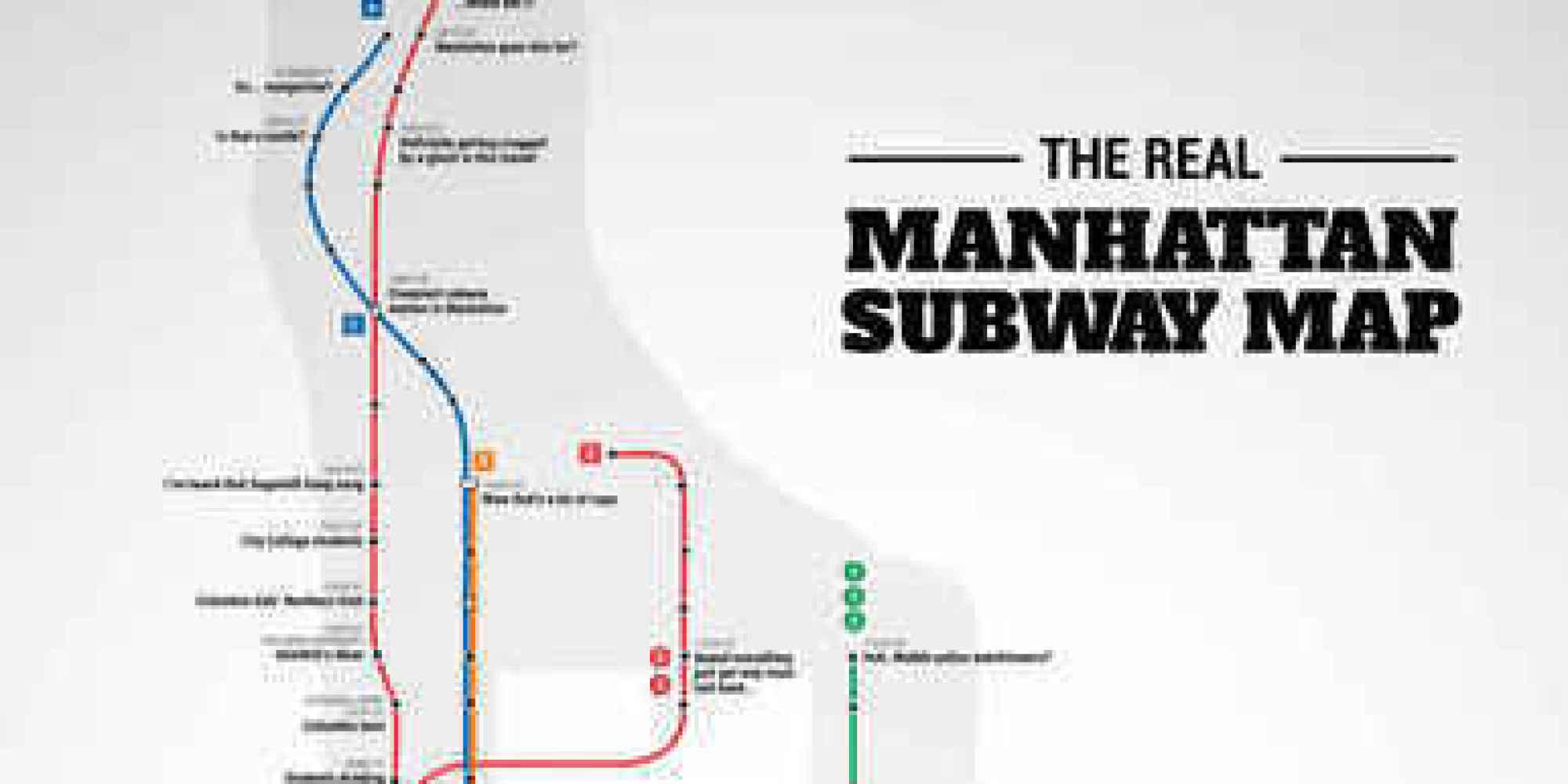 Mahattan Subway Map