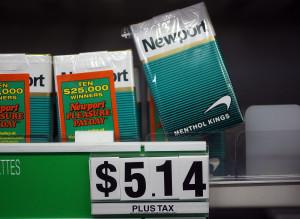 gauloises cigarette price list