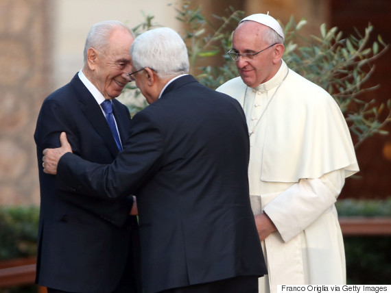 pope francis palestine
