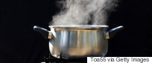 WATER BOILING