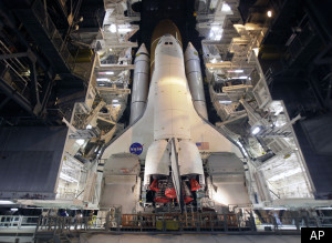 Shuttle Launch Endeavor