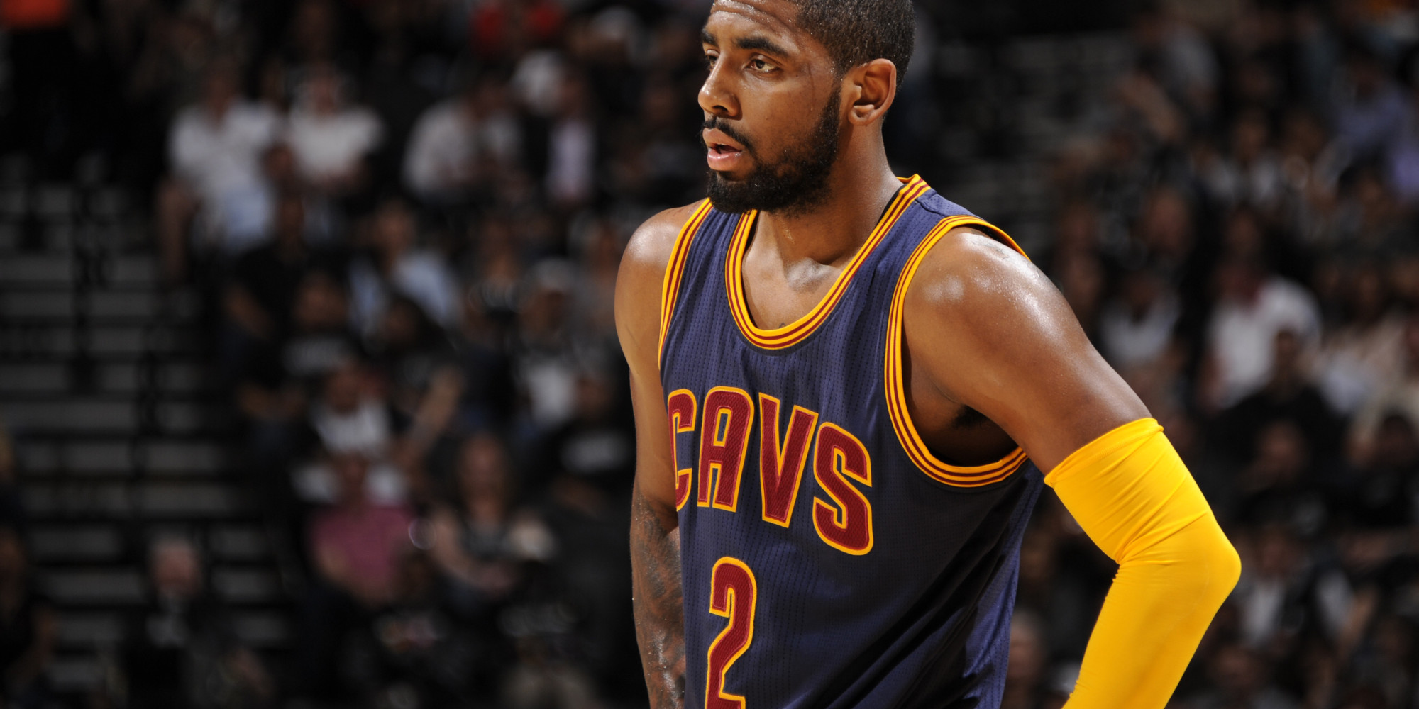 kyrie irving scores more points in a game than lebron ever