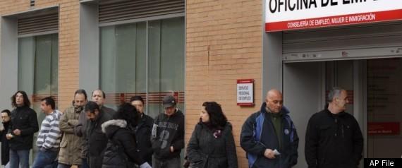 SPAIN UNEMPLOYMENT LINE