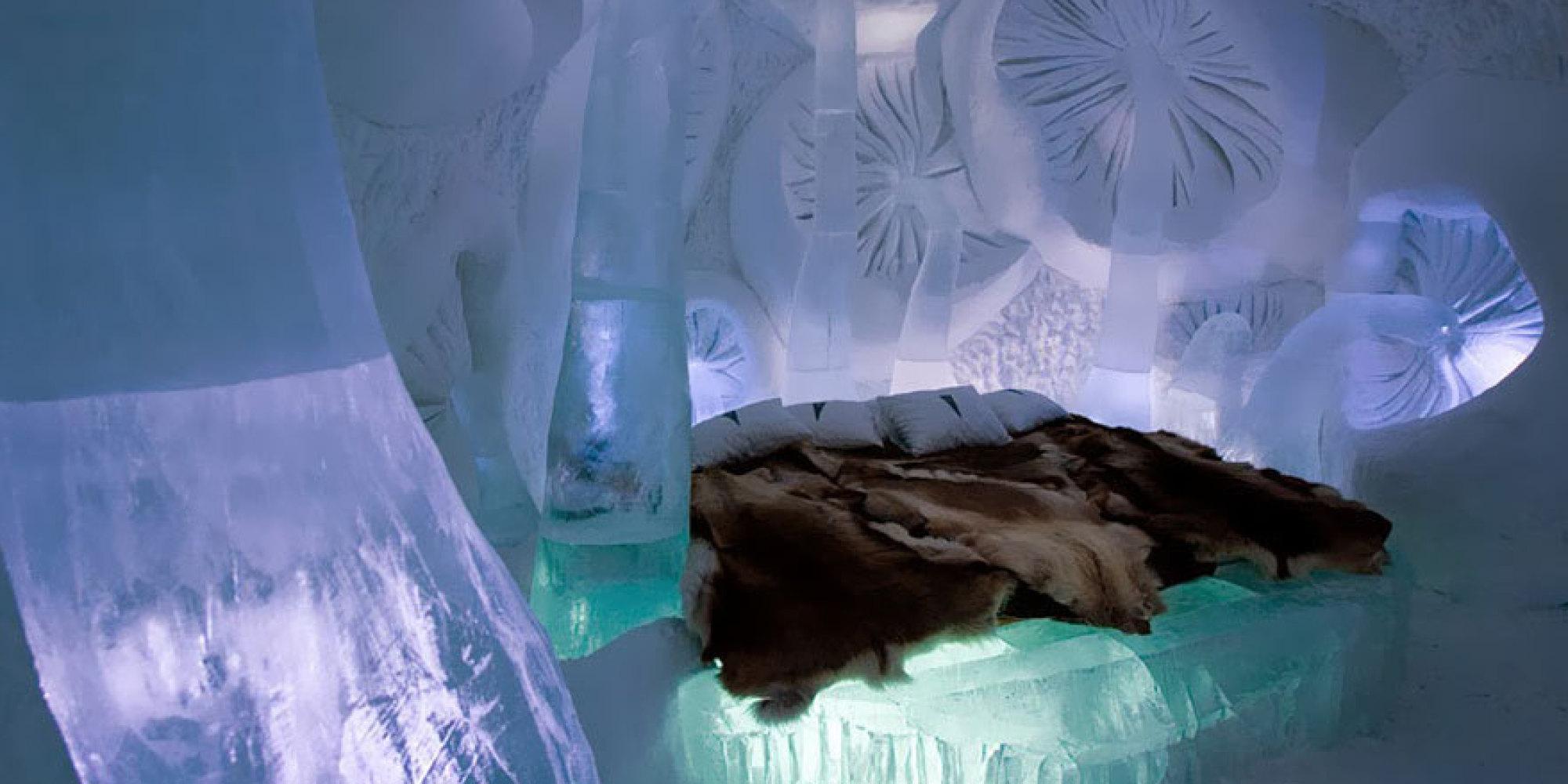 les plus beaux h tels de glace au monde photos. Black Bedroom Furniture Sets. Home Design Ideas