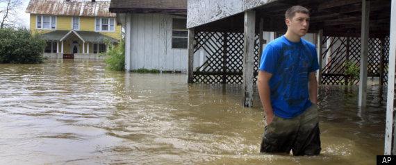 MISSISSIPPI RIVER FLOODS 2011