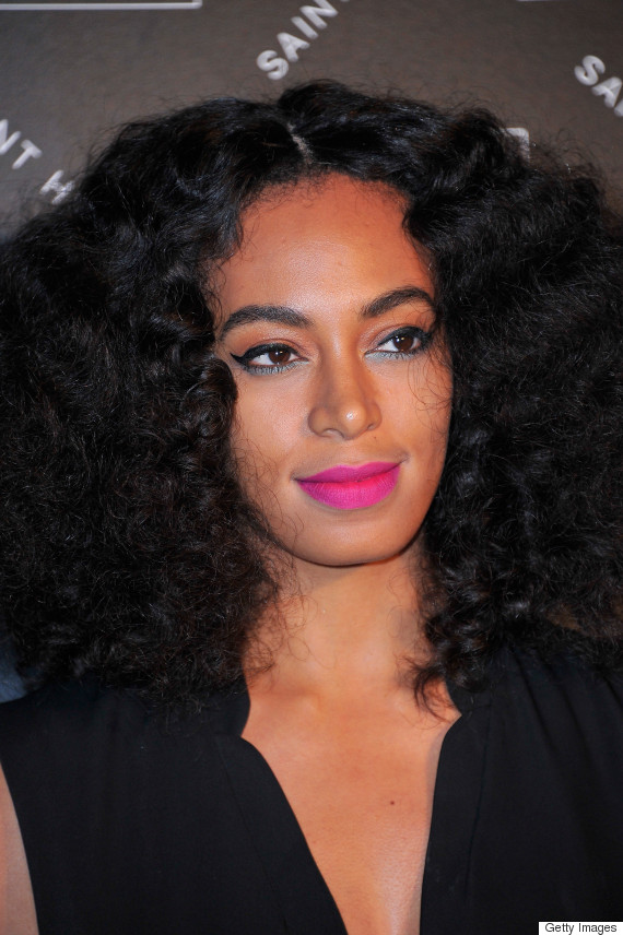 Solange Knowles Ombr 233 Lipstick Amp More Celebrity Beauty