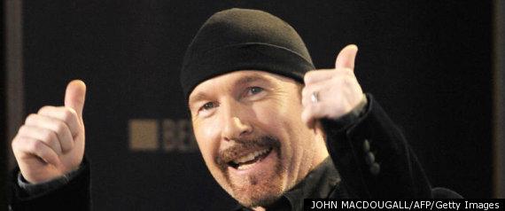 U2 THE EDGE
