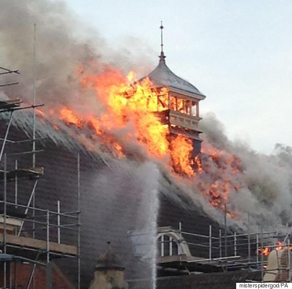 battersea fire