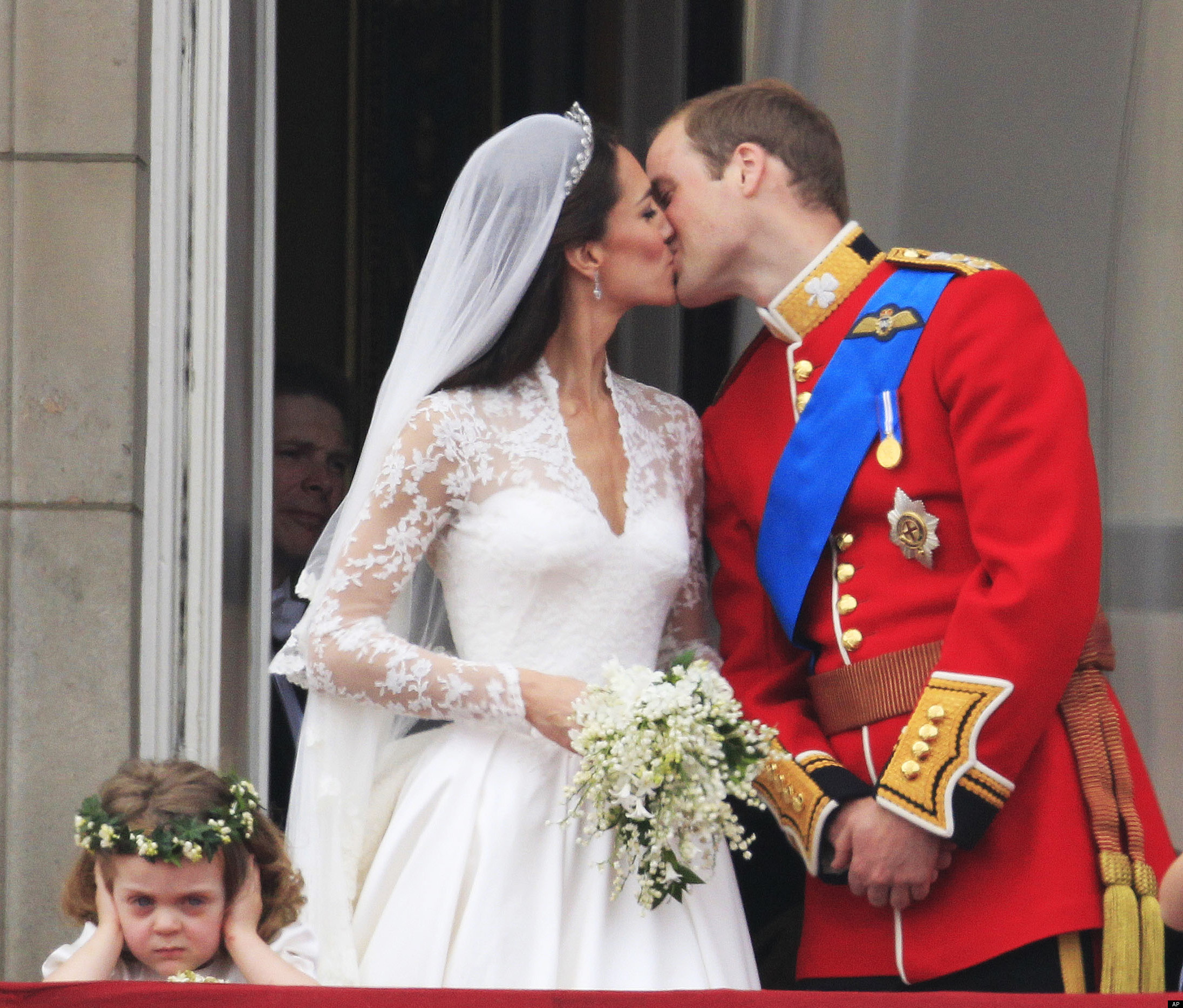 Gallery Royal Wedding Kisses: CAPTION THIS: What's This Girl Thinking During The Royal