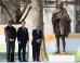 Mahatma Gandhi Statue Unveiled By David Cameron In London's Parliament Square