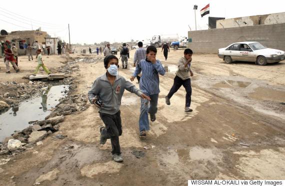 iraq chlorine
