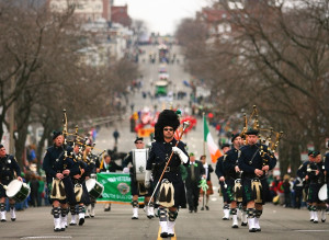 Gas in St. Pat's parade in Boston