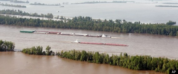 Missouri Floods 2011 Levee
