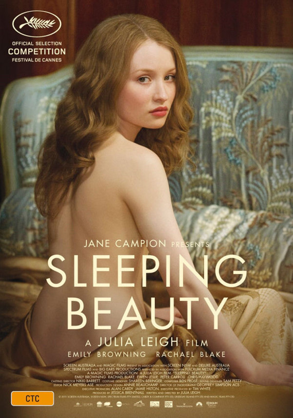 'Sleeping Beauty' Poster: Emily Browning Goes Nude For Cannes Poster ...