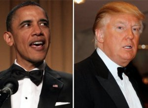 Barack Obama / Donald Trump
