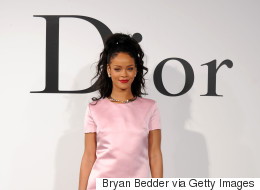 RiRi Makes History As The First Black Celeb In A Dior Campaign