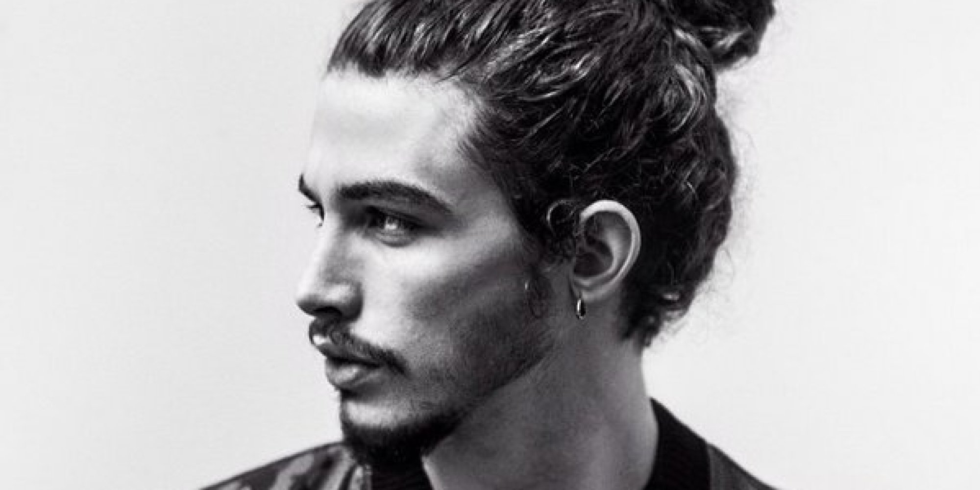 Buff Man Bun 20 Man Buns on Instagram to