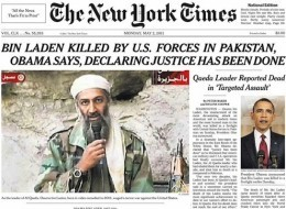 Osama Bin Laden Dead: New York Times Drops 'Mr.' From Bin Laden's Name