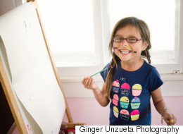 Messy Photos Of A 5-Year-Old Painter Serve As An Important Reminder For Adults