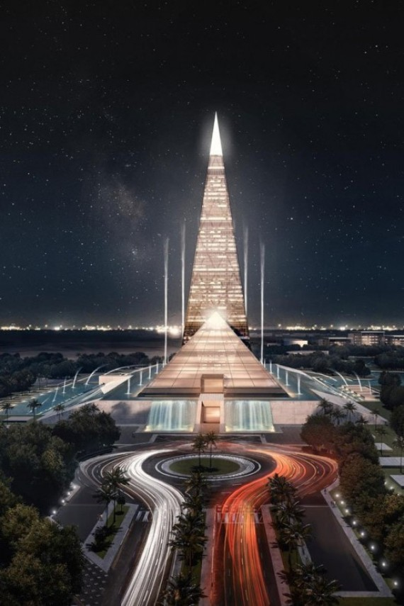 Behold The 650 Foot Pyramid Skyscraper Planned For Egypt