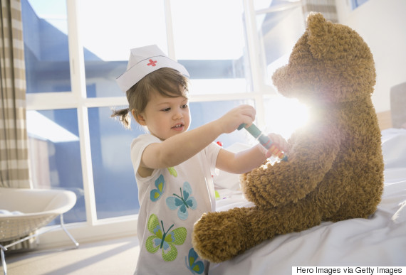 child teddy injection