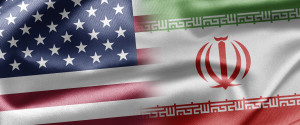 Iran Usa Flags