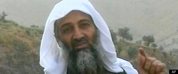 Osama bin Laden is seen in this image broadcast Wednesday April 17, 2002, by the London-based Middle East Broacasting Corp.
