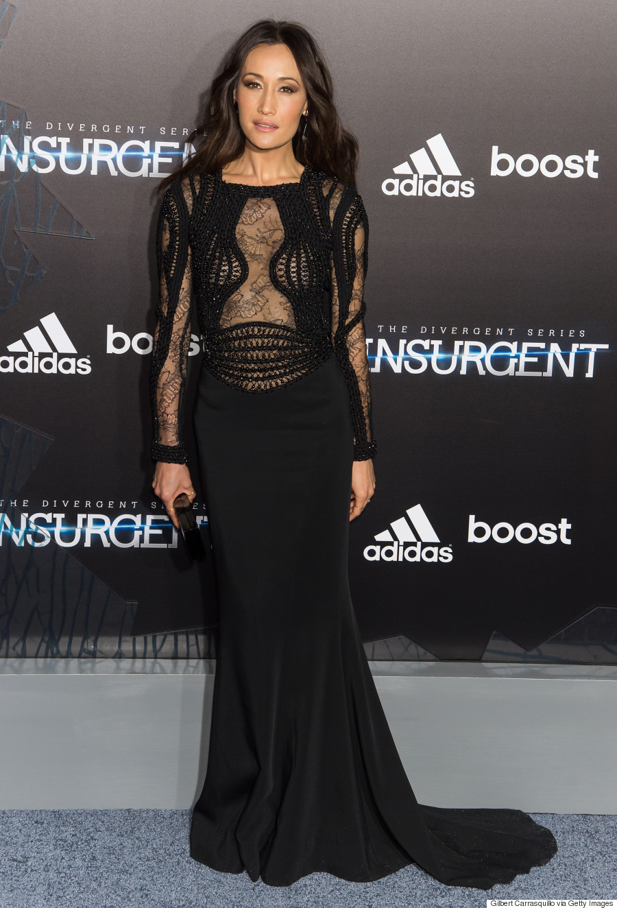 Maggie Q Channels Her Inner Dauntless At Insurgent Premiere